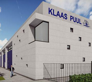Nieuwbouw bedrijfsgebouw Klaas Puul 2