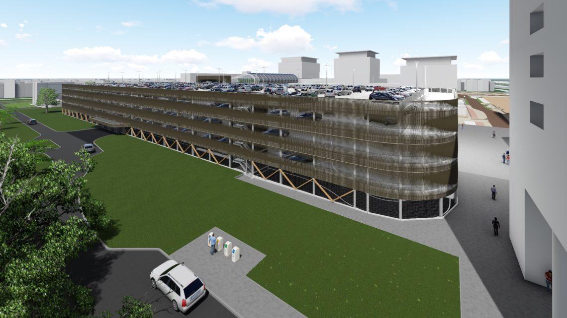Parkeergarage Bisonspoor Maarssen - JVZ constructie
