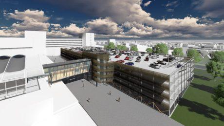 Nieuwbouw parkeergarage Bisonspoor Maarssen start in maart