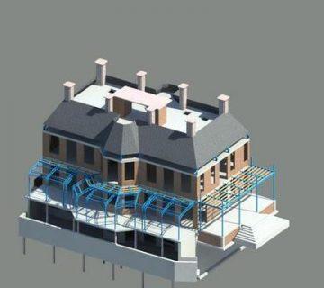 Nieuwbouw villa 'De negen linden' Loosdrecht 1