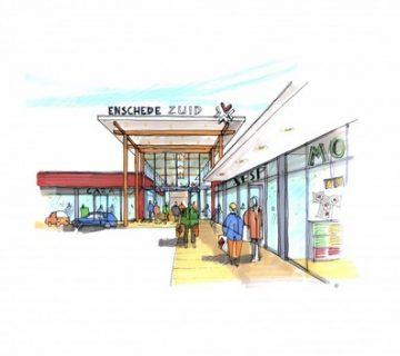 UItbreiding winkelcentrum Wesselerbrink 0
