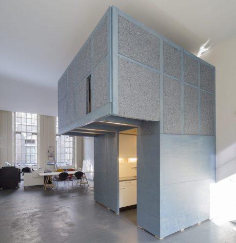 Interieurobject voor Architectuurcentrum Rondeel