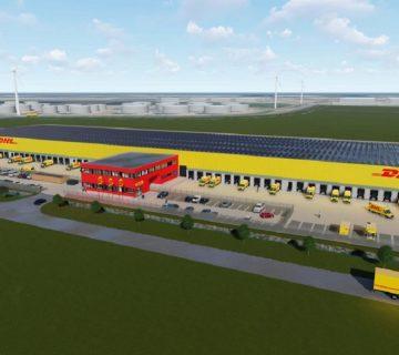 Bedrijfshal DHL Parcel Amsterdam 3