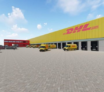 Bedrijfshal DHL Parcel Amsterdam 2
