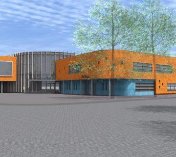 Verbouwing sporthal De Kloosterhof 2