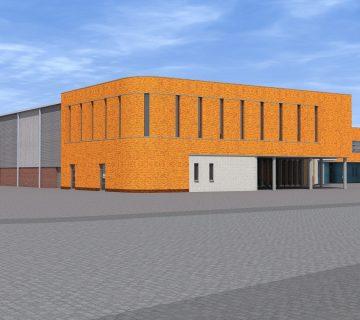 Verbouwing sporthal De Kloosterhof 1