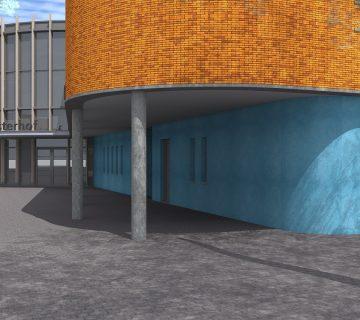 Verbouwing sporthal De Kloosterhof 0