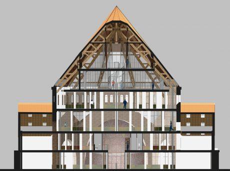 Stephanuskerk in Nijmegen verbouwd tot kantoorgebouw