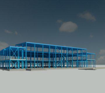 Nieuwbouw bedrijfsgebouw Klaas Puul 0