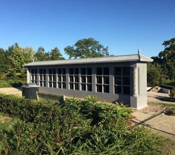 Pagode en columbarium Zwolle 1