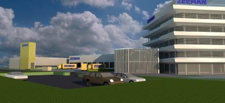 Nieuwbouw parkeergarage distributiecentrum Zeeman