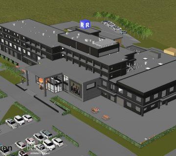 Verbouwing Postillion hotel Dordrecht 0
