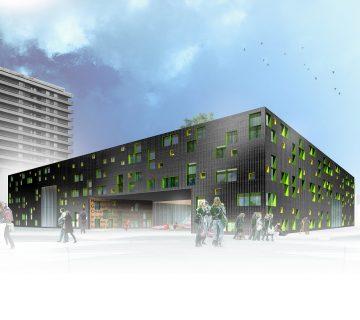 Nieuwbouw VSO school Europalaan Utrecht 0