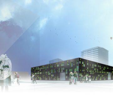 Nieuwbouw VSO school Europalaan Utrecht 3