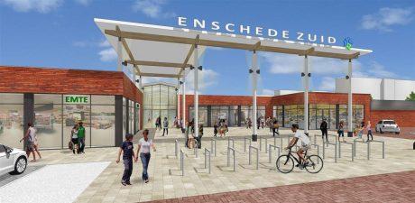 Nieuwbouw winkelcentrum Enschede-Zuid van start