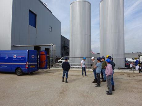 JVZ Deventer bezoekt bouwplaats Ameco in Apeldoorn