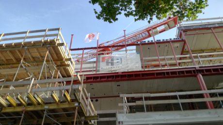 Nieuwbouw bibliotheek Deventer bereikt hoogste punt