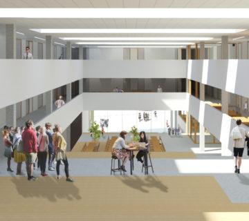 Nieuwbouw MBO College Poort Almere 2