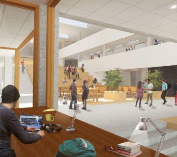 Nieuwbouw MBO College Poort Almere 0