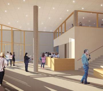 Nieuwbouw MBO College Poort Almere 1