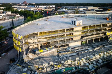 Beoordeling veiligheid van gebouwen met breedplaatvoeren