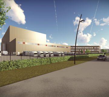 Nieuwbouw Euroma Hessenpoort Zwolle 0