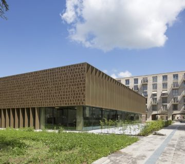 Hofgebouw Kloostertuin Brakkenstein Nijmegen 2