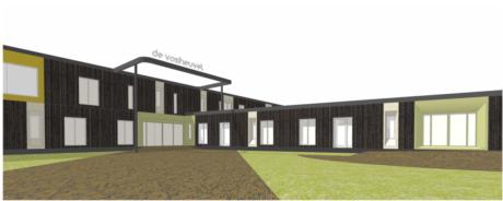 Nieuwe huisvesting voor scholencomplex de Vosheuvel in Amersfoort