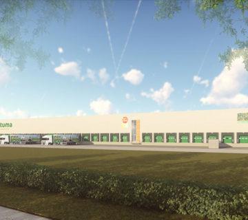Distributiecentrum met kantoor voor Postuma AGF IJsselmuiden 1