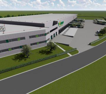 Distributiecentrum met kantoor voor Postuma AGF IJsselmuiden 2