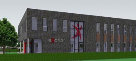 Eerst paal geslagen nieuwbouw Exonet