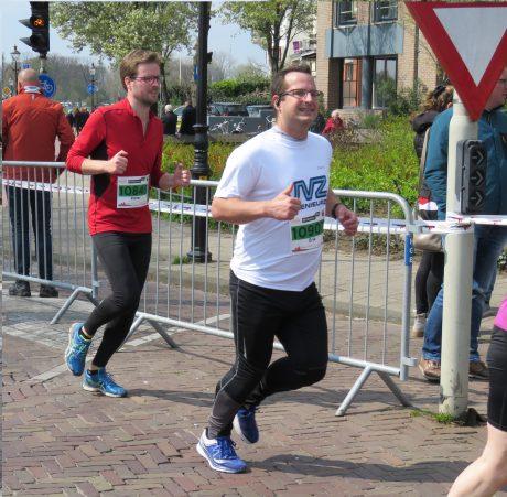 JVZ in actie tijdens de IJsselloop