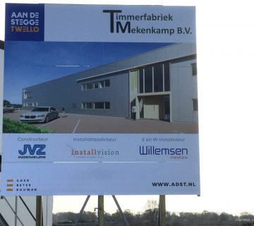 Nieuwbouw timmerfabriek Mekenkamp Raalte 0