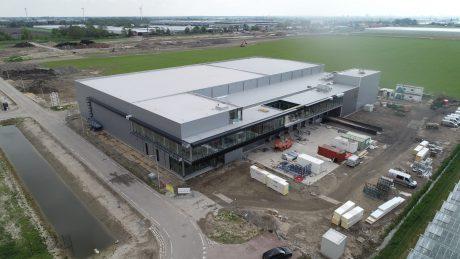 Drone zicht op Kippie Waddinxveen