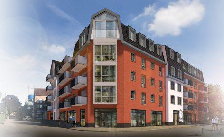 Uitvoering nieuwbouw appartementen de Meesterplaats te Wijchen