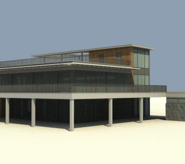 Strandpaviljoen te Mook 1