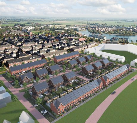 Heiwerkzaamheden nieuwbouw 66 woningen de Kiem Houten gestart!
