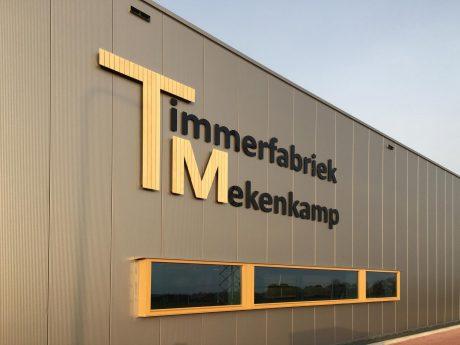 Nieuwbouw Timmerfabriek Mekenkamp te Raalte in gebruik genomen