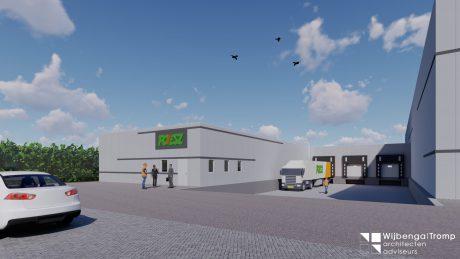Start bouw Vries DC Poiesz supermarkten