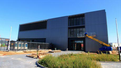 Nieuwbouw Hoffmann in eindfase