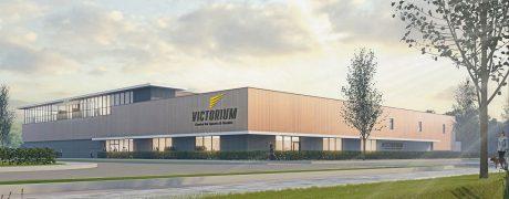 Bouw multifunctioneel sportcomplex Victorium van start gegaan!